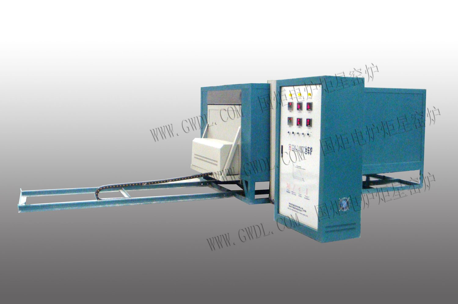High Temperature Bogie Hearth Electric Furnace