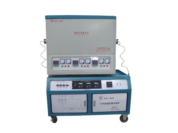 Multi-heating zone tube furnace