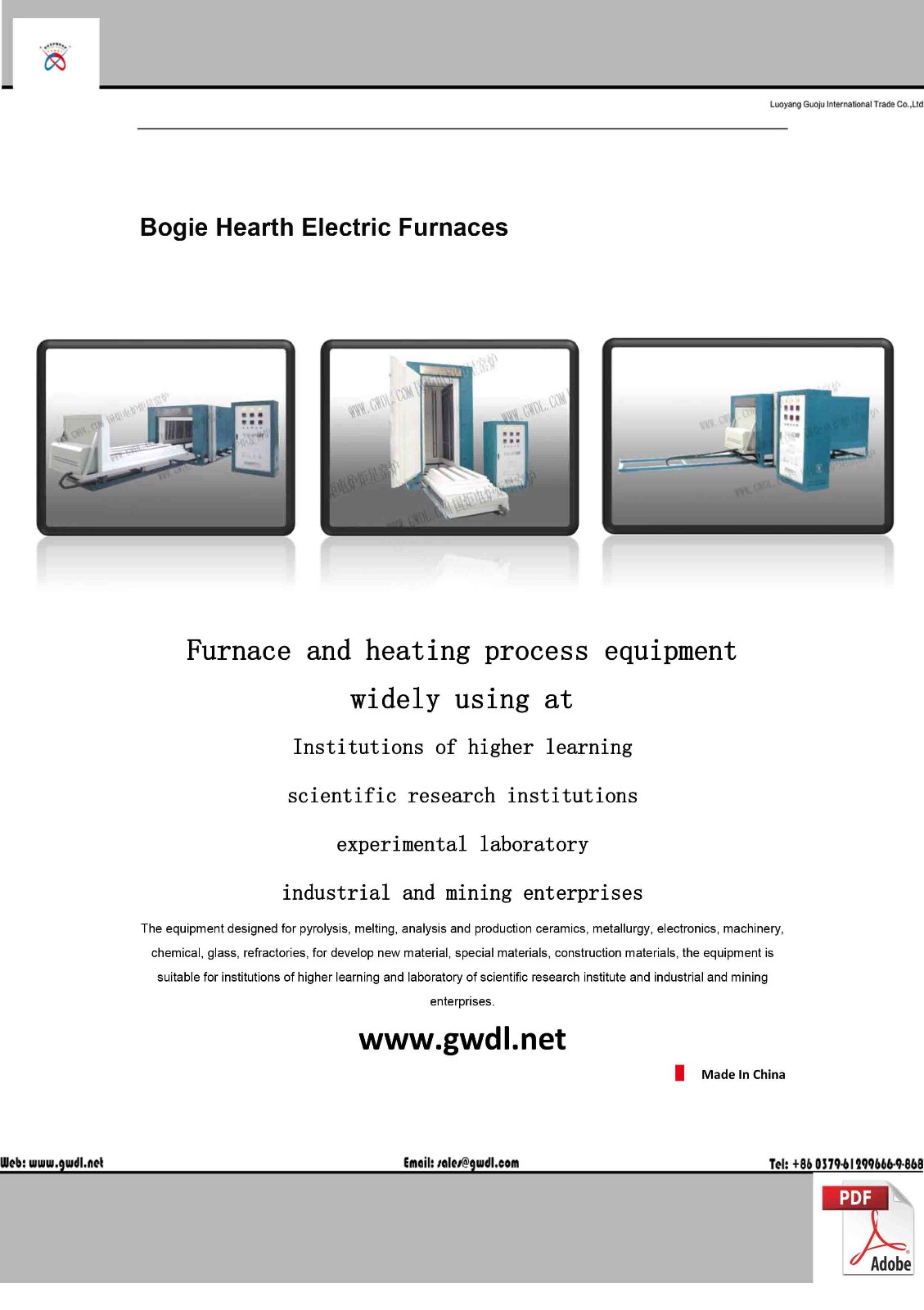Bogie Hearth Electric Furnaces